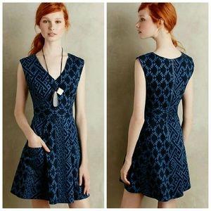 Plenty by Tracy Reese Denim Print Dress